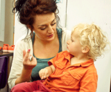 Chatting in Storytime with deaf children