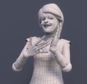 An avatar signs technology