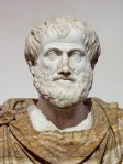An image of an marble statute of Aristotle